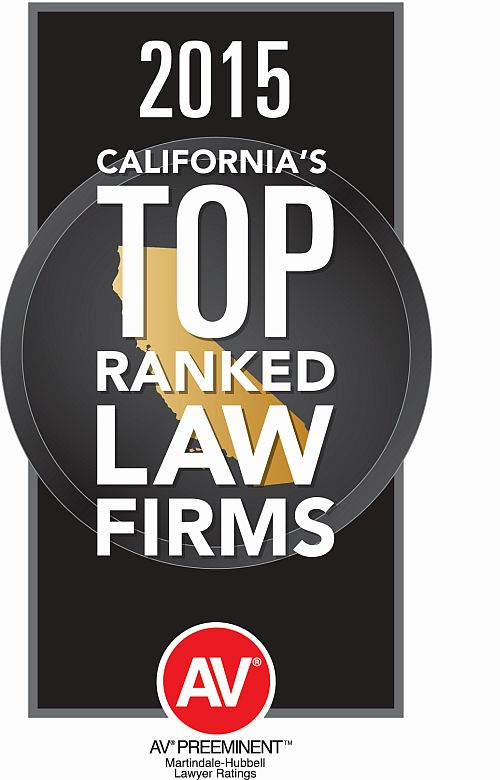 2015 California's Top Ranked Law Firm